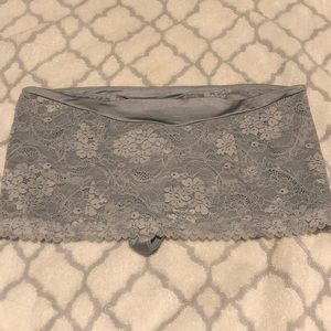 Victoria's Secret Lace Flower skirt with thong NWT